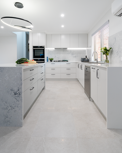 M+R Theodore - Home Renovation – Kitchen, Ensuite, Bathroom, Powder Room, Laundry, Flooring & Painting