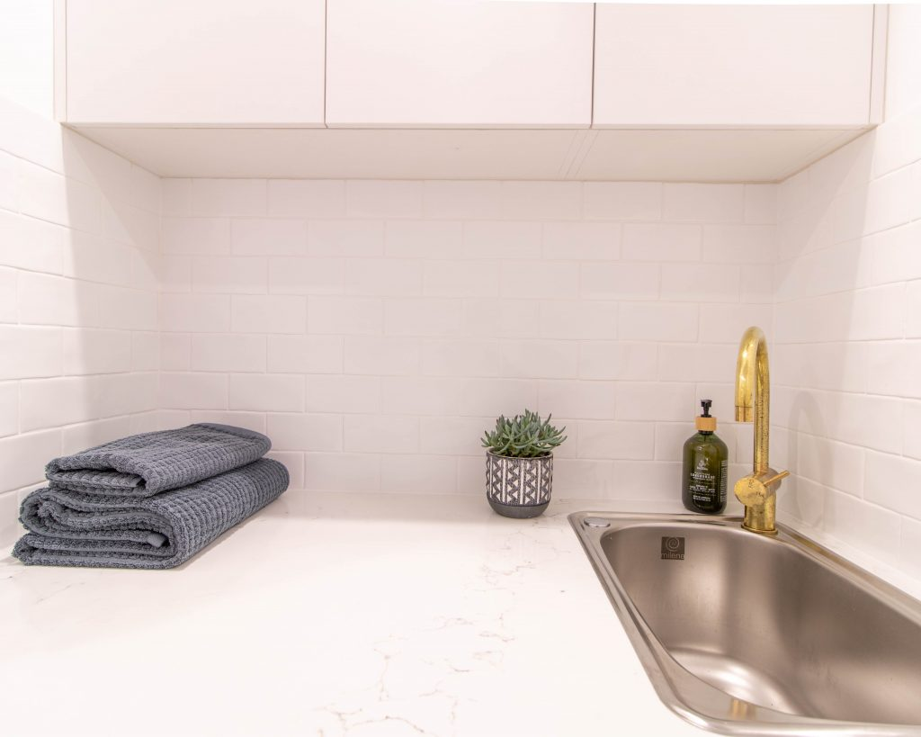 Downer - Main bathroom, powder room and laundry renovation.